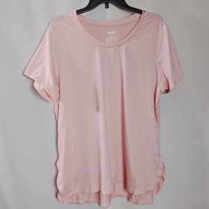 Avia Soft Pink High Low Workout T Shirt Like New